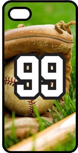 Baseball 0000 Batter Pitcher Catcher Home Run Strike Foul Score Points Sports Fan Player Number 99 Smoke Rubber Case for iPhone 4/4s