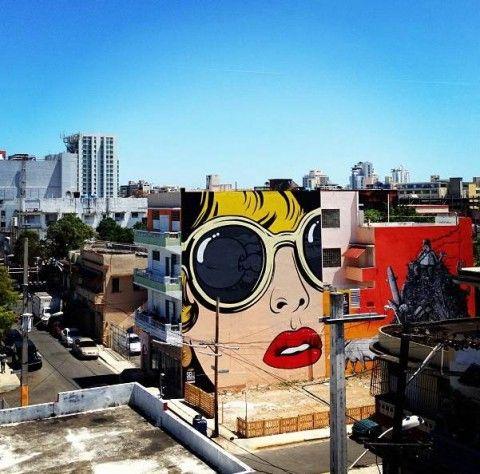 D*Face New Mural @ Santurce, Puerto Rico