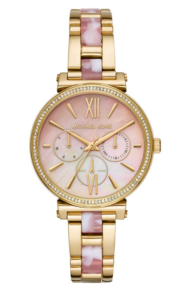 Michael michael kors sofie bracelet watch 36mm