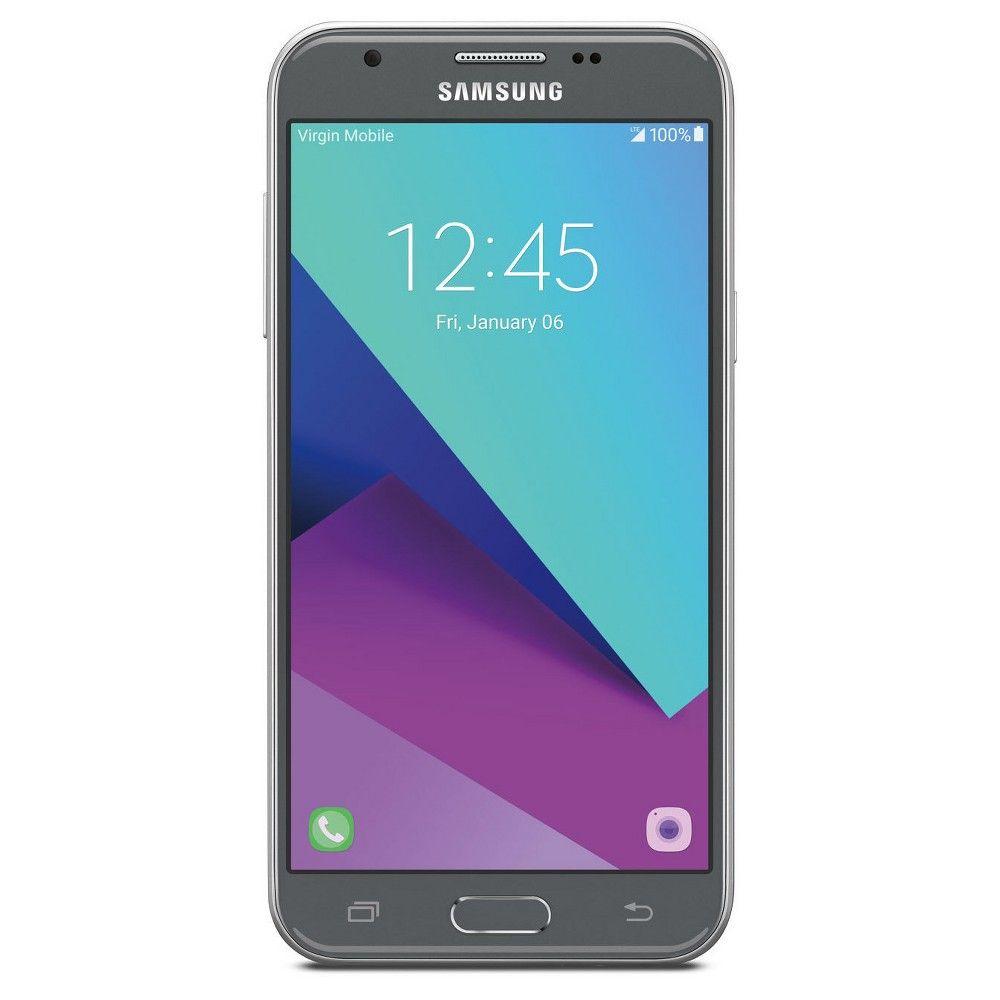 Virgin Mobile Samsung J3 Emerge, Medium Silver