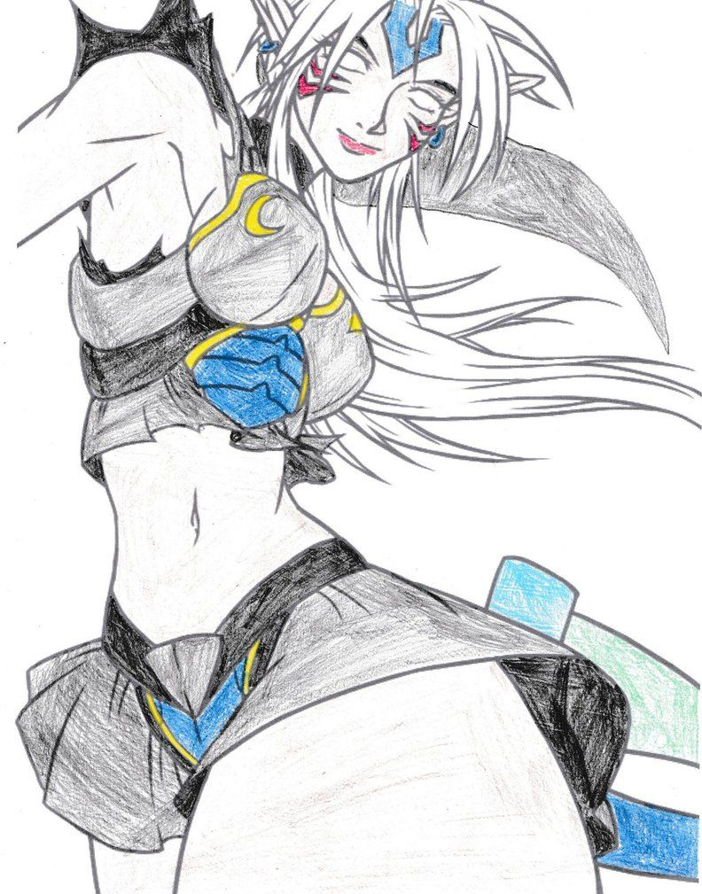Female Fierce Deity Link by knigshadow40 | Triforce Art