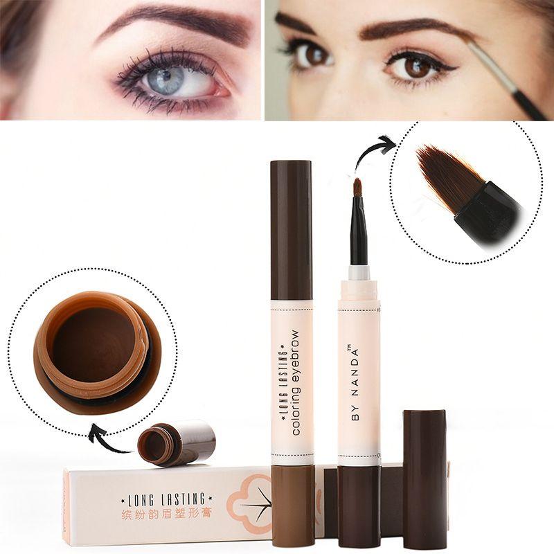2016 Professional Waterproof High Eye Brow Tattoo Cream Cosmetic