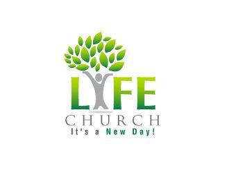 LIFE church logo design - 48HoursLogo.com | Church Logos ...
