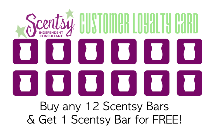 Scentsy Customer Loyalty Card Https Annalawson Scentsy Us Scentsy Scentsy Business Gift Certificate Template