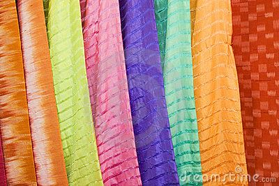 Thai Silks by Bryan Busovicki, via Dreamstime