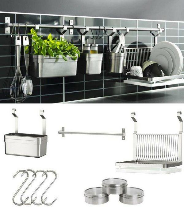 Les Meilleurs Accessoires Pour Une Credence Fonctionnelle Tendance Credence Cuisine Ikea Rangement Cuisine Ikea Idee Rangement Cuisine