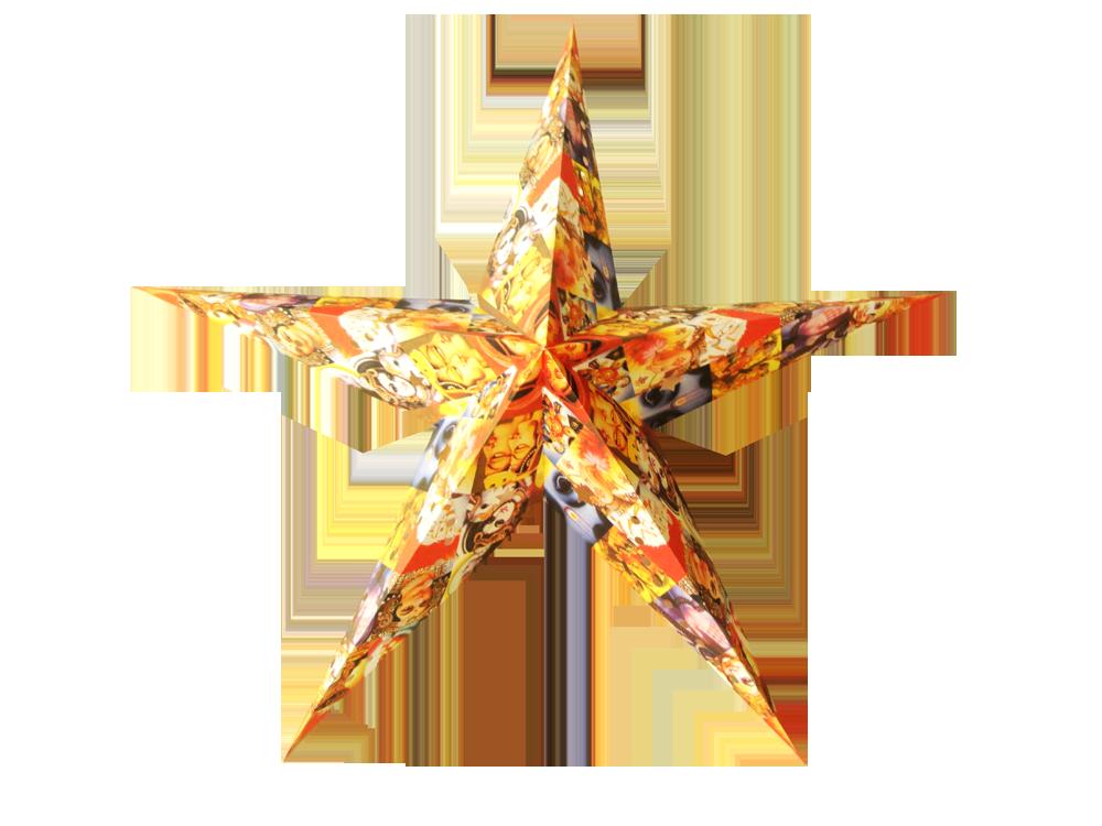 Handmade Paper Star 5 Pointer Handmade Paper Star On Plain Batik Offset Print On Mill Made Paper Paper Stars Handmade Paper Prints