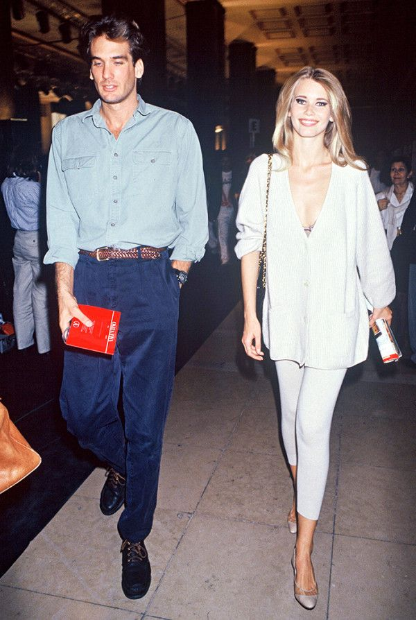 Here S What Model Off Duty Style Looked Like In The 90s