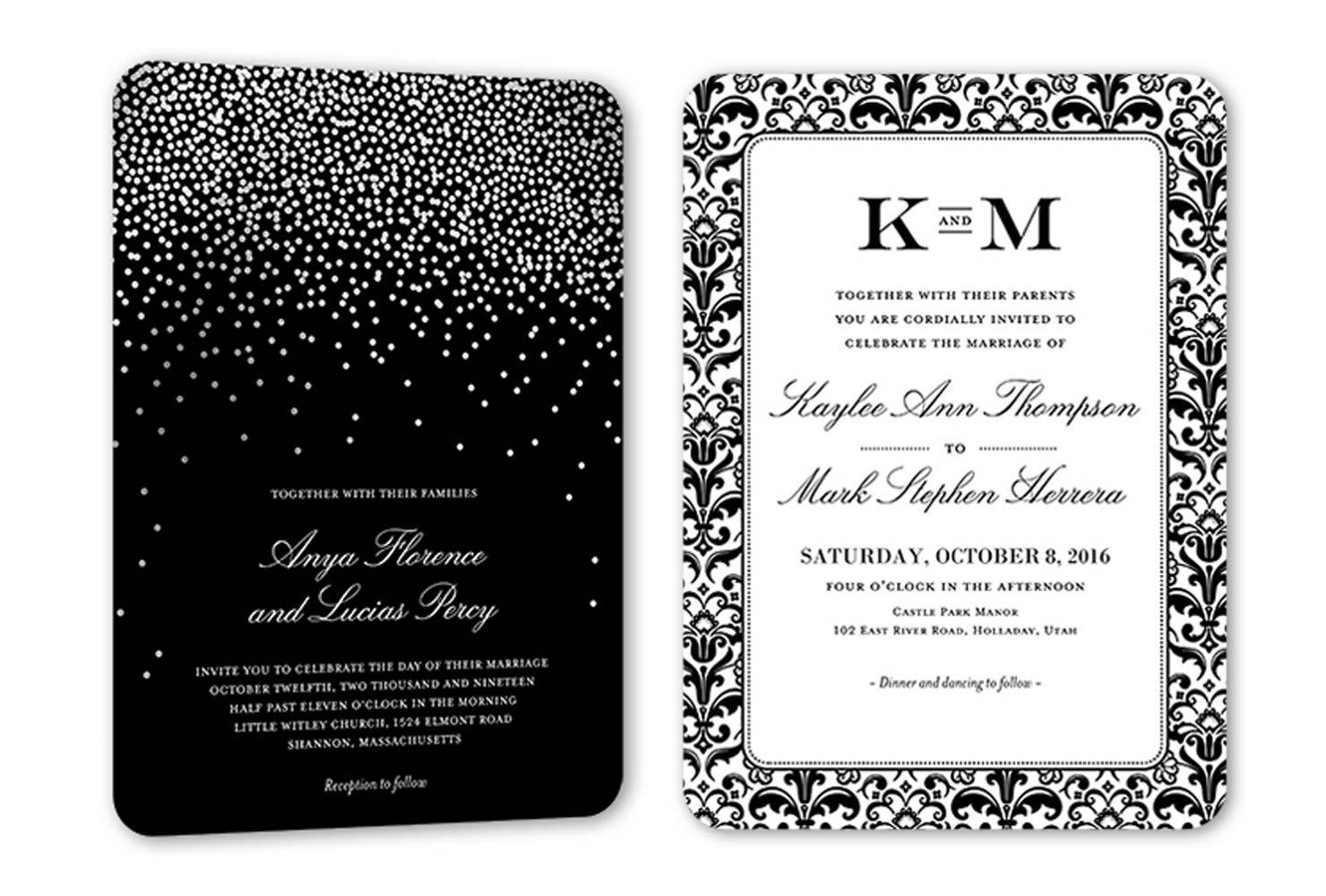 Wedding Invitation Wording Examples Wedding invitation