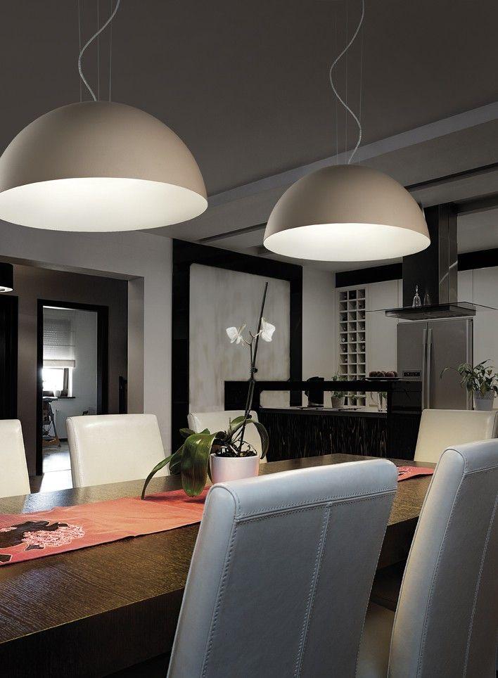 Braga DUNE Ø 40cm LED-Pendelleuchte 2100/S40C Dune, Interior - esszimmer modern gemutlich