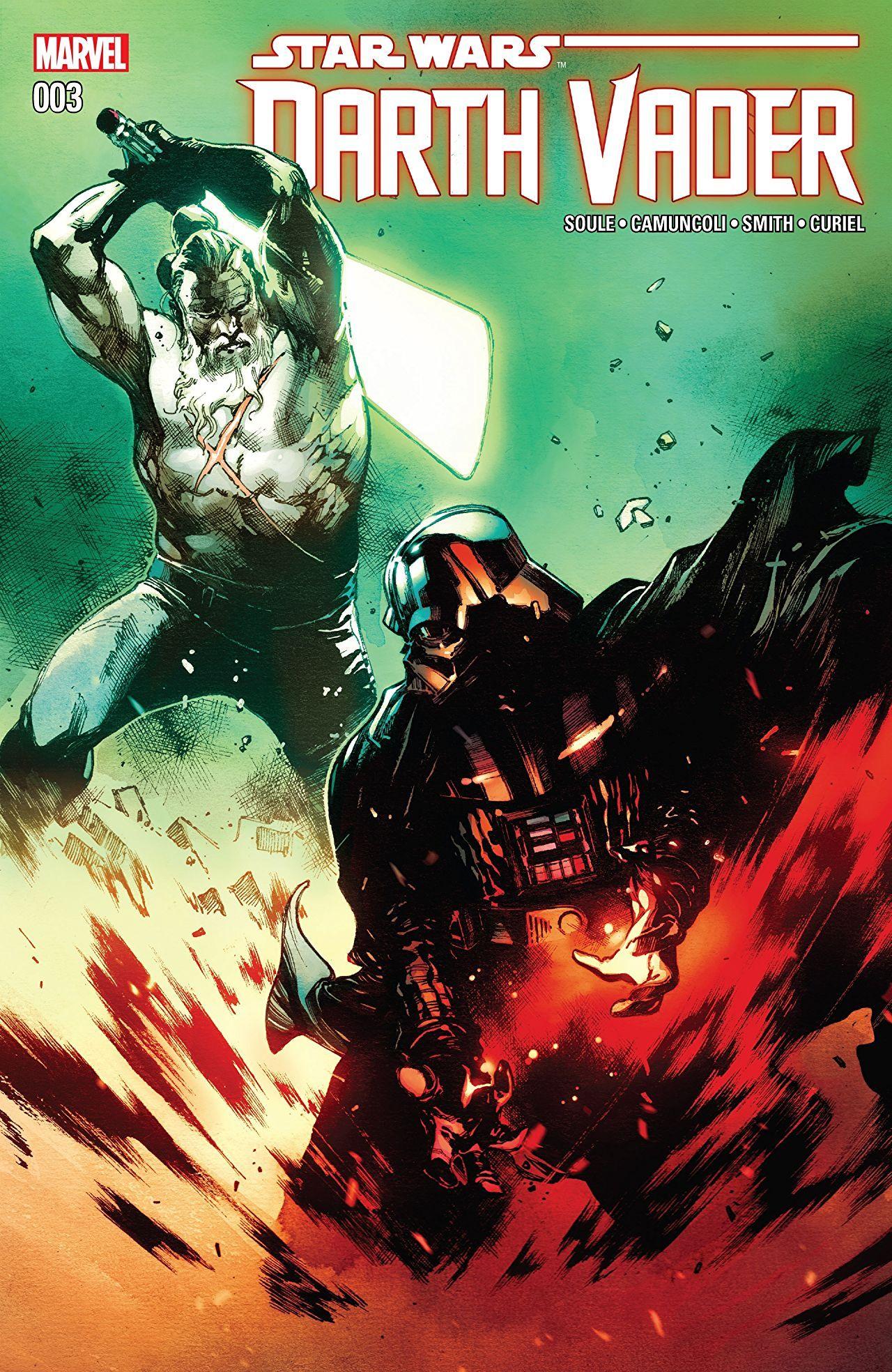 Darth Vader (2017-2018) #3 | Star wars comic books, Star
