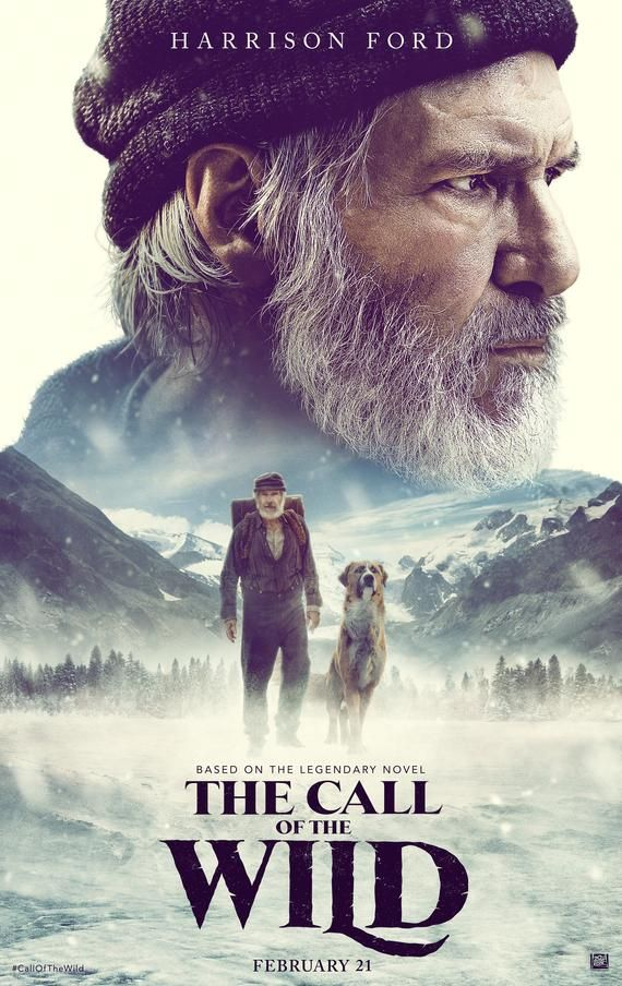 The Call of the Wild Movie Poster Glossy High Quality Print Photo Wall Art Harrison Ford Size 8x10 1