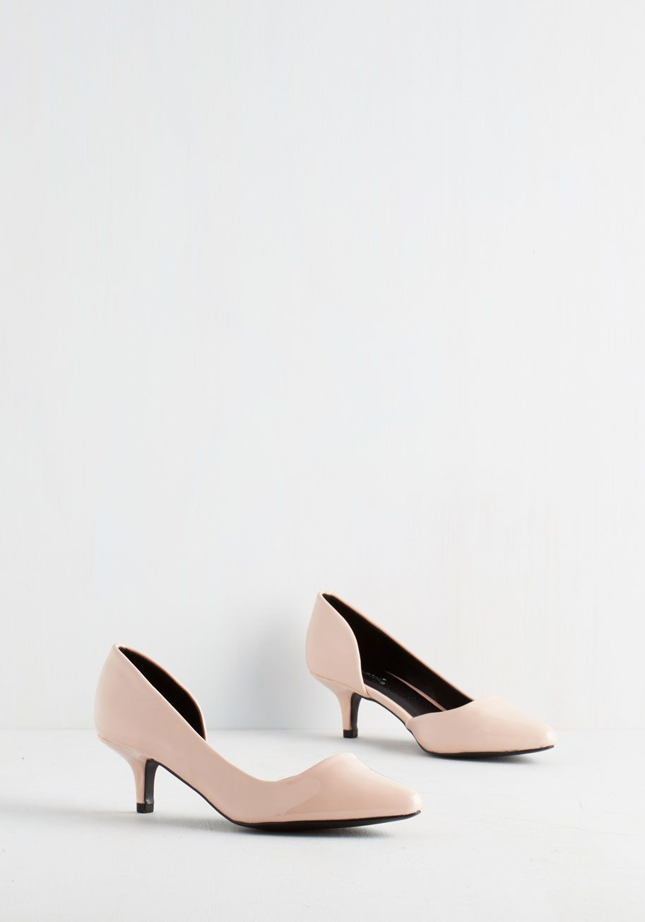 Exude Elegance Heel In Petal You Give Off An Air Of