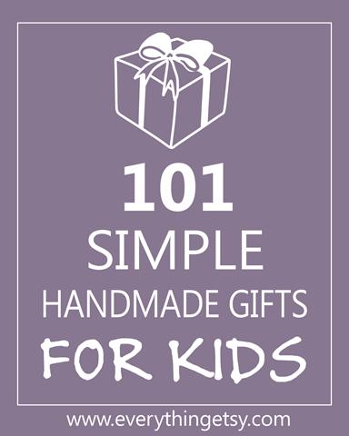 handmade gifts for kids - EverythingEtsy.com