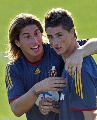 Fernando Torres, Sergio Ramos & Andrés Iniesta | Футбол