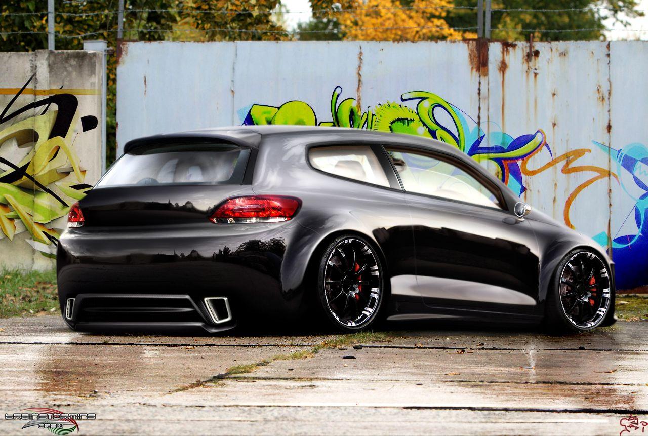 Volkswagen scirocco r wallpaper