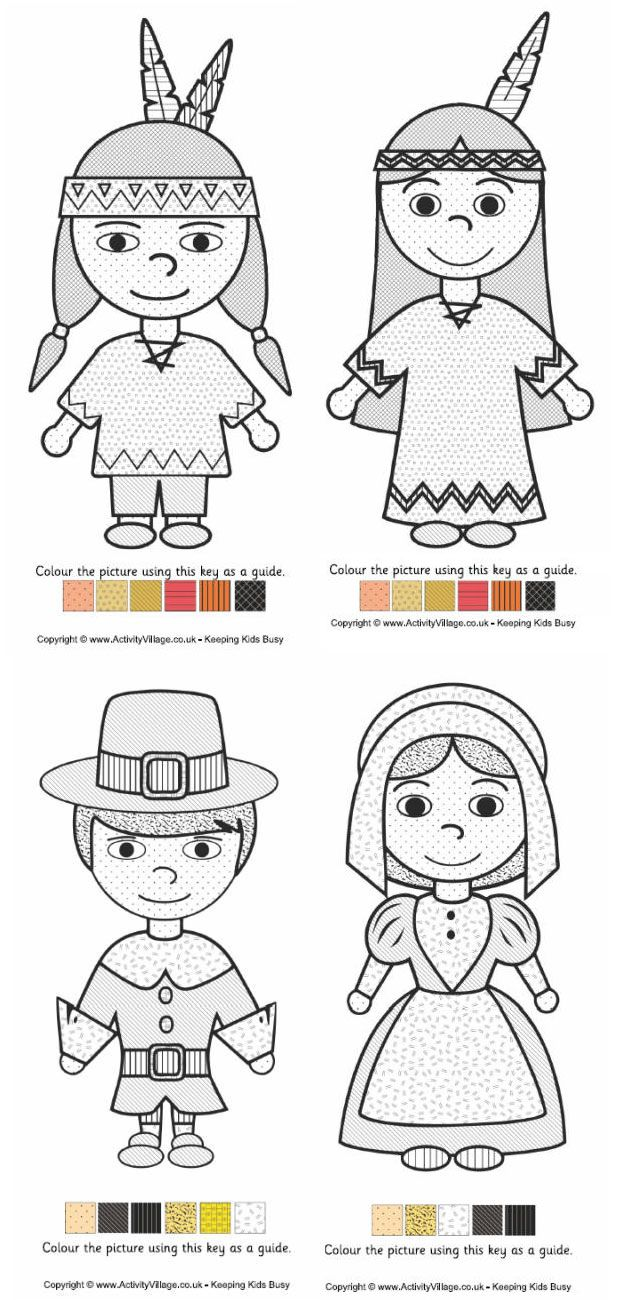 15 Free Kids Thanksgiving Activity Sheets & Coloring Pages ...
