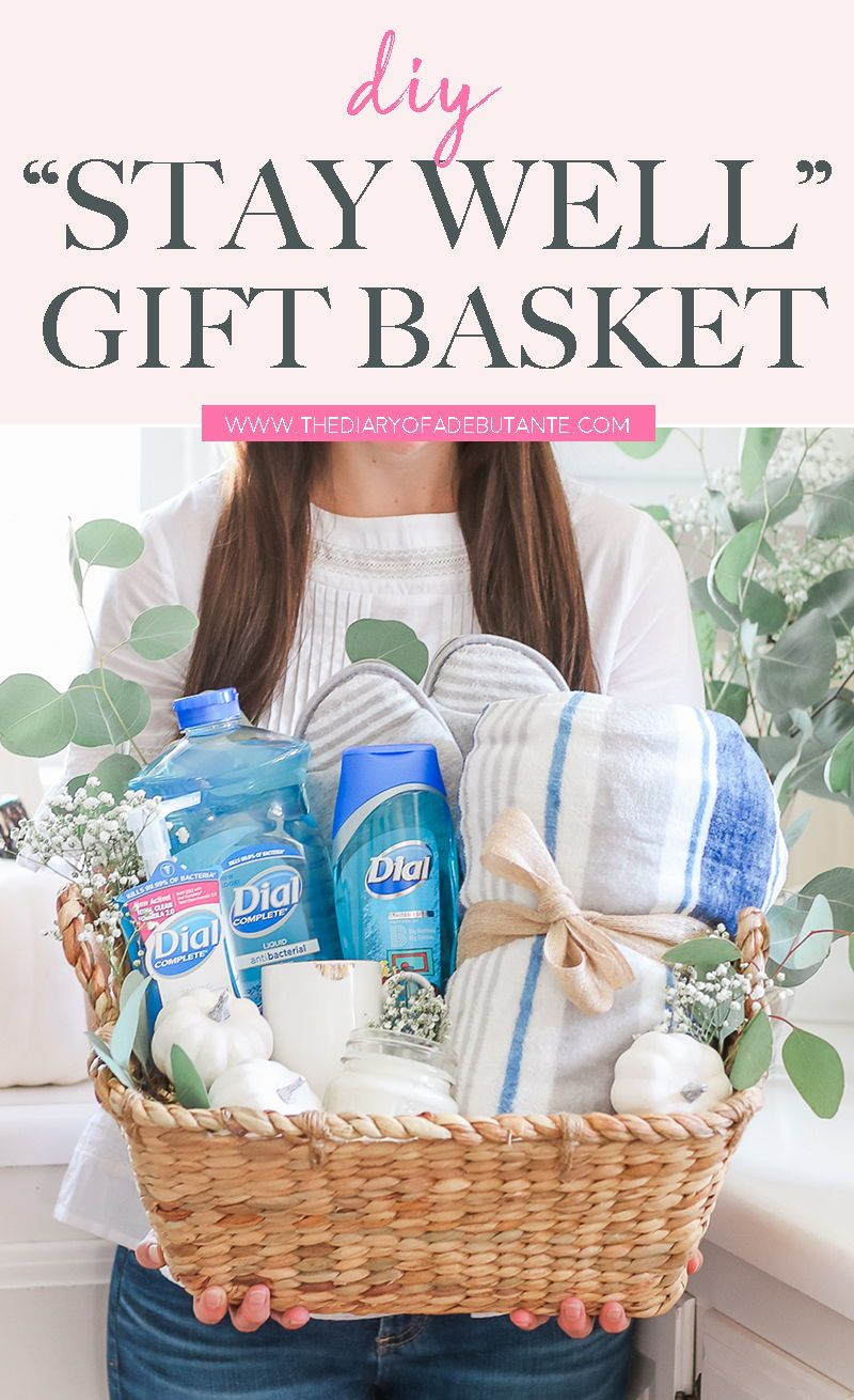 Stay Well Gift Basket Idea For Teachers New Moms And Volunteers In 2020 Wellness Gifts Gift Baskets Teacher Favorite Things