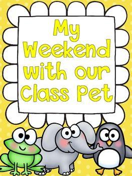 Class Pet Journals By Haley O Connor Teachers Pay Teachers Class Pet Classroom Pets Pets Preschool
