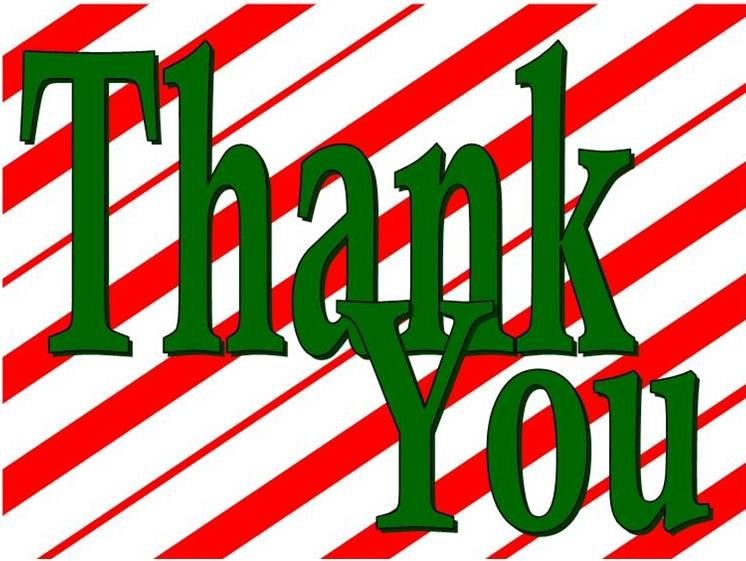 CHRISTMAS, THANK YOU CLIP ART | CLIP ART - CHRISTMAS 1 ...