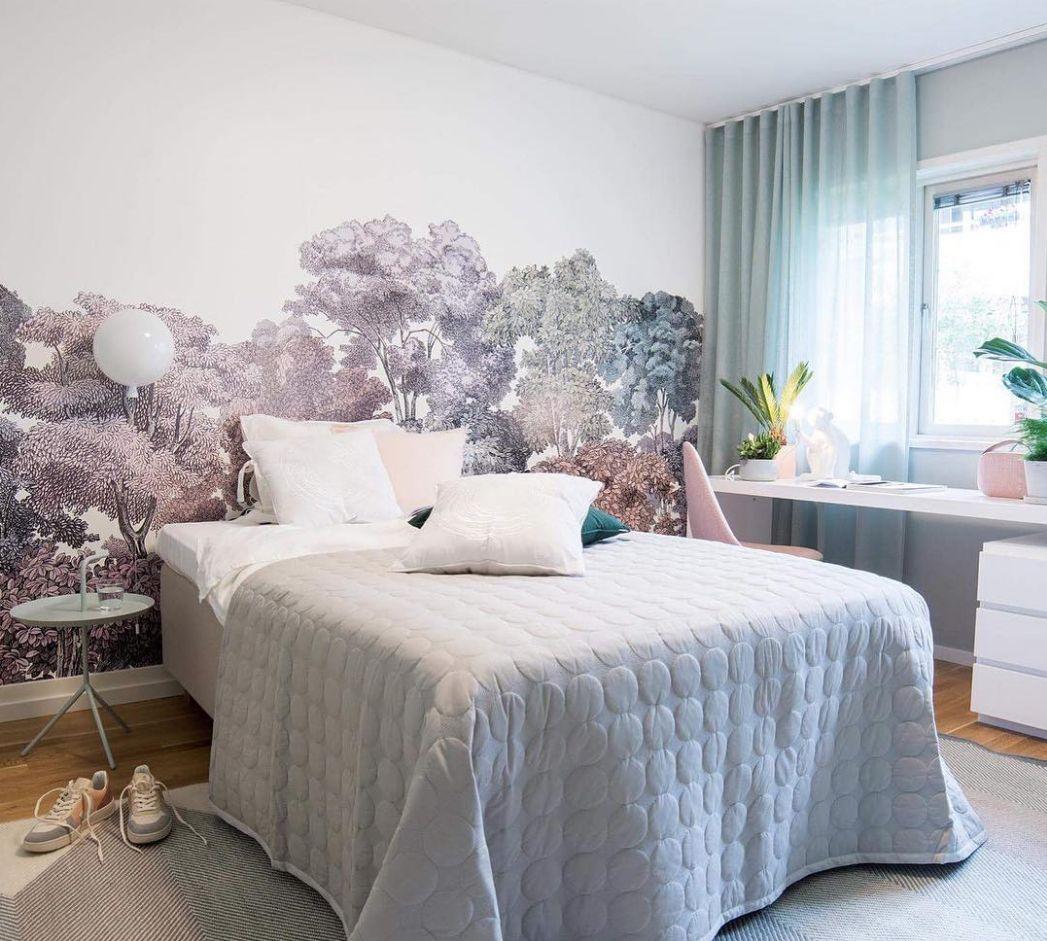 Papier Peint Chambre Moderne bellewood, rainbow | papier peint multicolore, chambre
