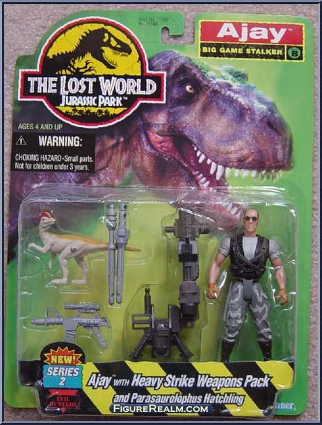 Jurassic Park The Lost World III Action Figure Parts Accessories Weapons Kenner