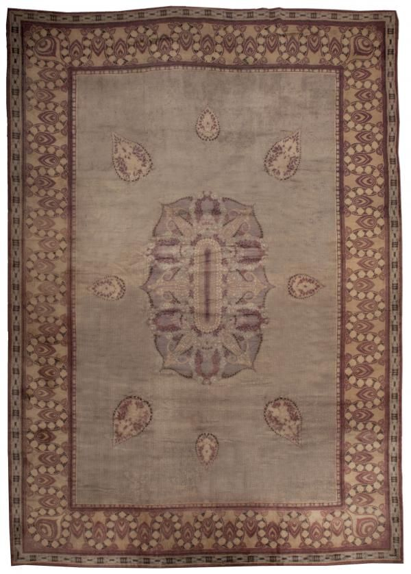 Large Vintage French Art Deco Rug Art Deco Rugs French Art Deco