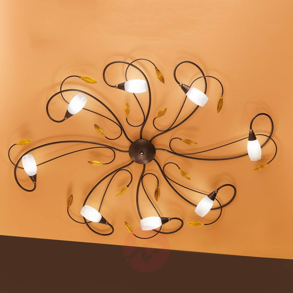 Fantazyjna Lampa Sufitowa Gerbera 8 Punktowa W 2019 Lampy