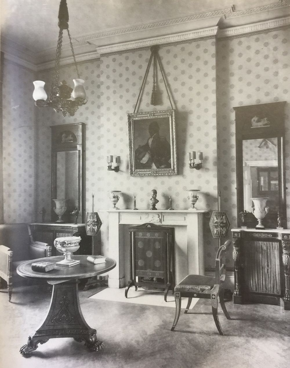 Inside House Drawing: 1920s London Drawing Room (With Images)