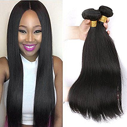 Silkylong Brazilian Straight Hair 3 Bundles 22 24 26 Inch 100
