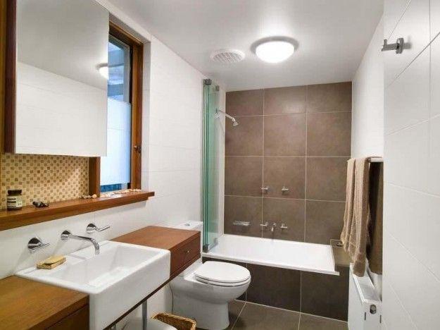 Arredare un bagno lungo e stretto   bagno stretto e lungo, colori ...