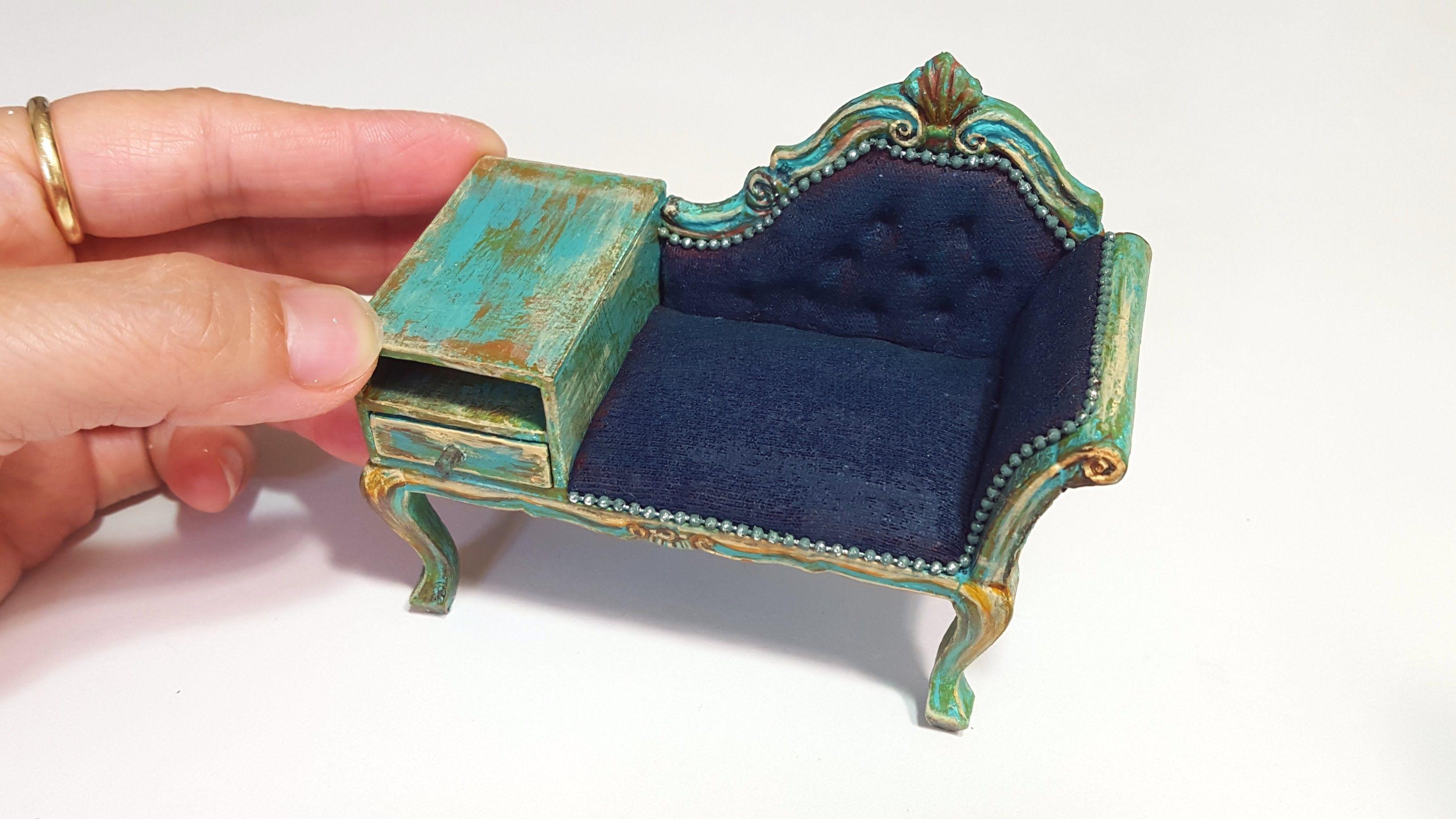 전화테이블Telephone table - 묭스미니어처myongs miniature