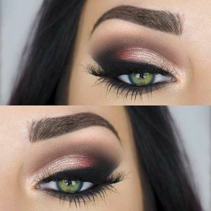 comment maquiller les yeux verts 50 astuces en photos et vid os make up makeup eye makeup. Black Bedroom Furniture Sets. Home Design Ideas