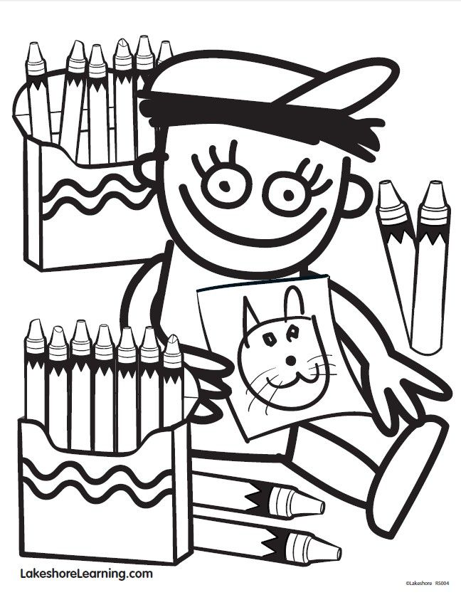 Click on the pin to print out Ricky's coloring sheet