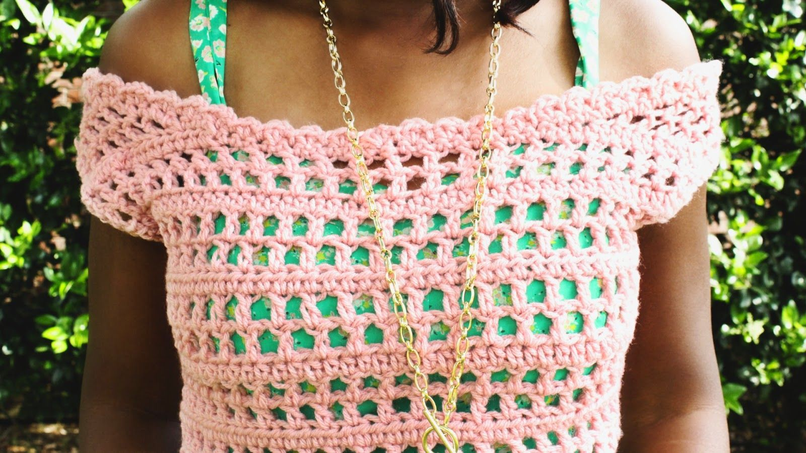 the dream crochet blog.: DIY: How To Crochet An Off The Shoulder Top ...