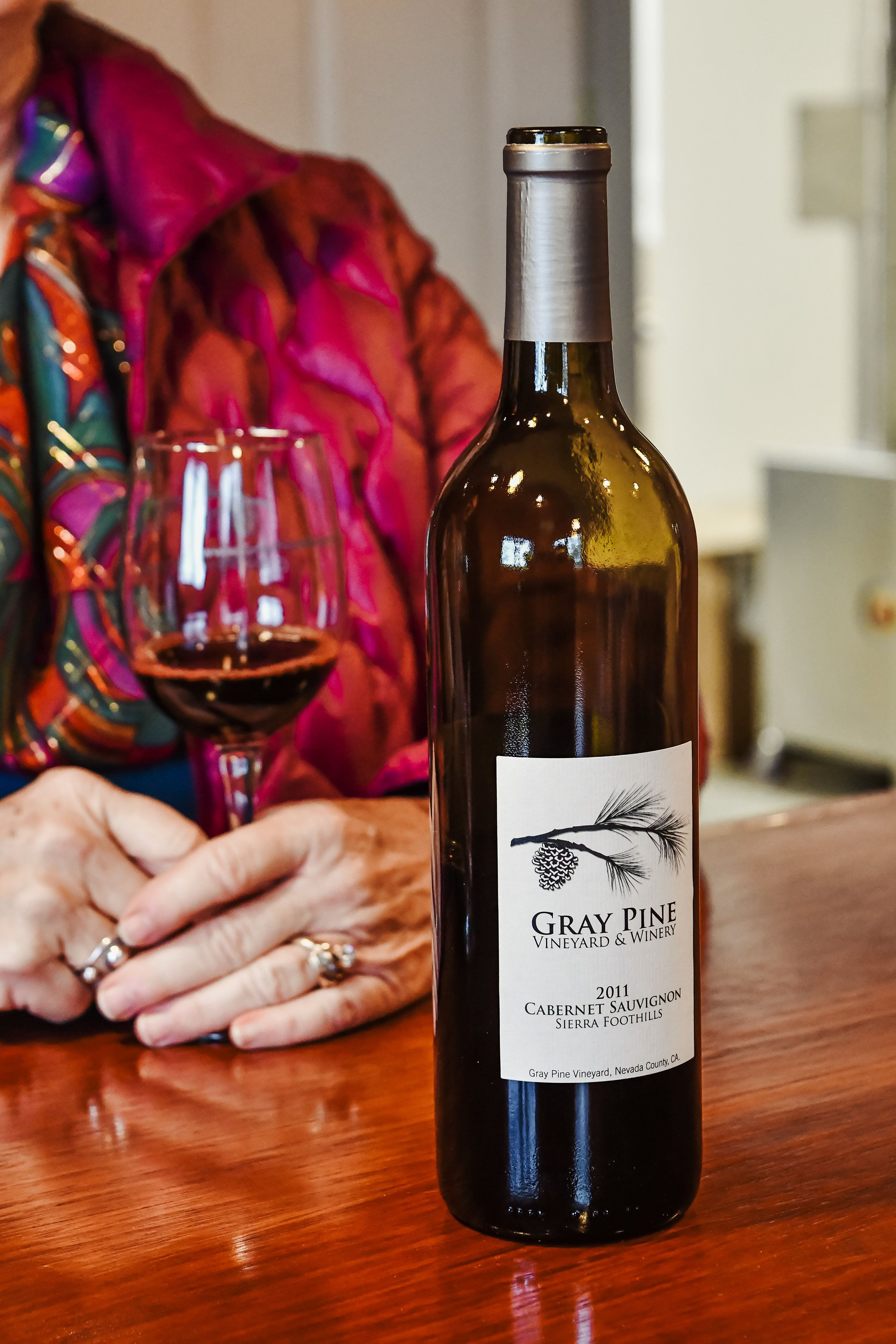 Gray Pine Winery Wineoclock Wine Winetasting Wine Wine Bottle Winery