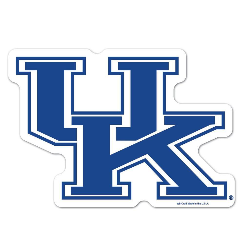 4 x 4 WinCraft NCAA University of Kentucky Perfect Cut Decal Set of 2