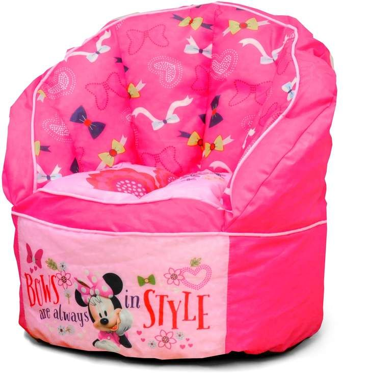 Disney S Minnie Mouse Sofa Bean Bag Chair Products In 2019