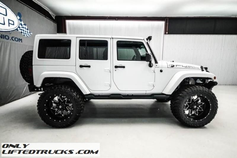 Used 2015 Jeep Wrangler Unlimited Sahara Lifted Texas Jeep