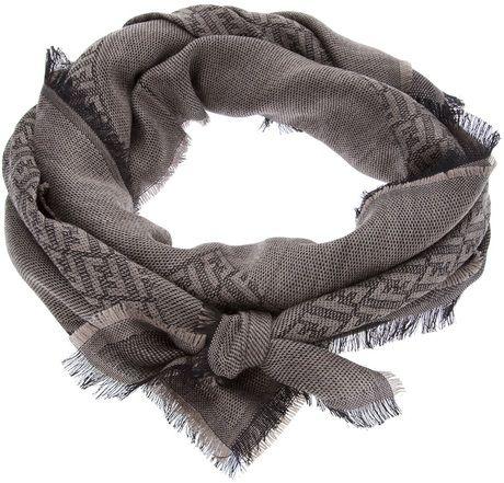 cf0a42ac8 Fendi Logo Embellished Scarf | f a s h i o n | Fendi scarf, Fendi ...