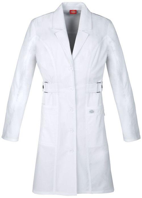 Dickies Medical 82410 Bata de Laboratorio Manga Larga para Mujer en ...