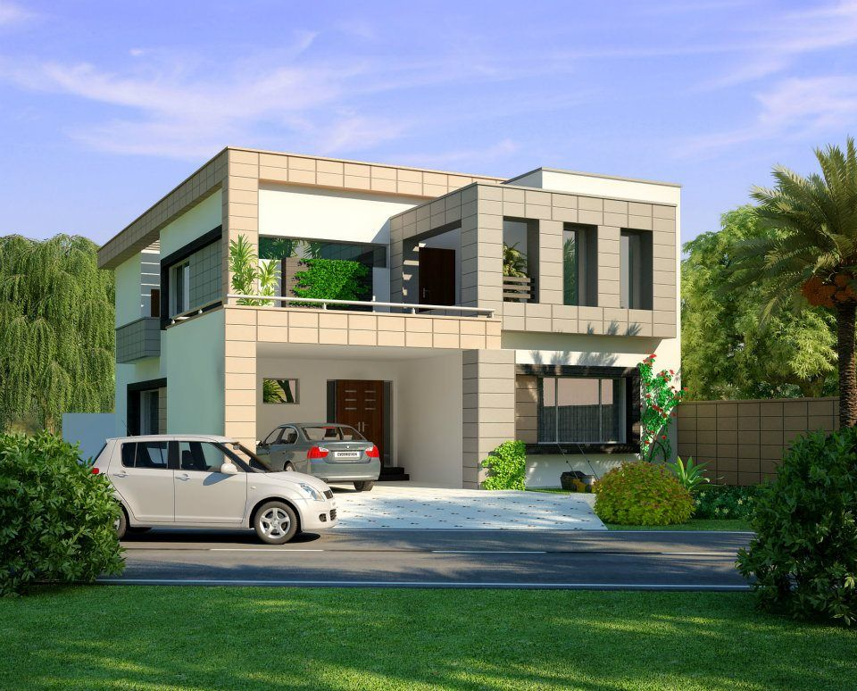 Front Elevation Of Houses In Lahore : Marla house design lahore houses apartments for