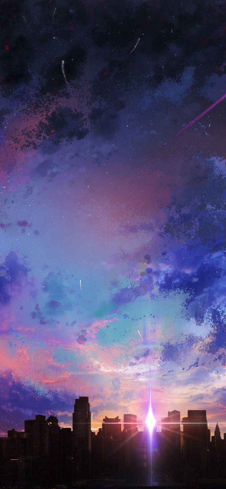 Anime Sunset Variant Iphone X 風景 幻想的 絵