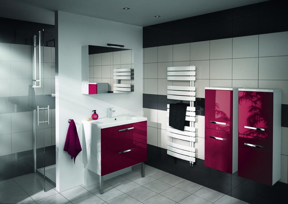 Salle De Bain Parement Baignoire ~ aquarine prefixe tiroir meuble salledebain red 2