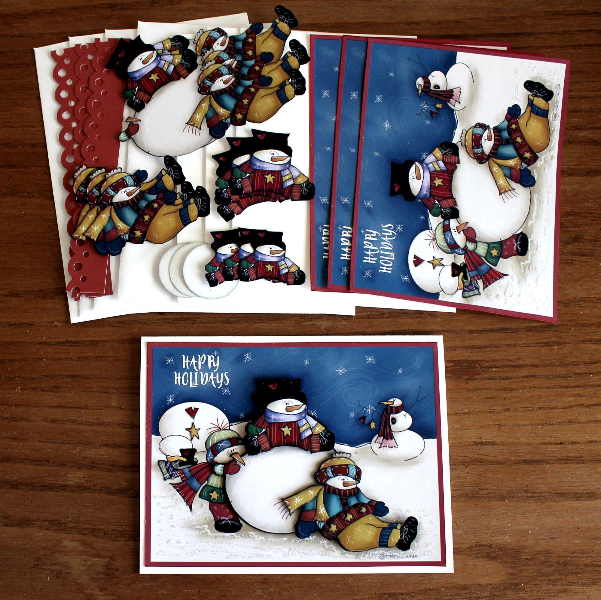 Diy Card Kit Handmade Greeting Cards Greeting Card Kit Etsy Greeting Card Kits Handmade Card Kits Greeting Cards Handmade