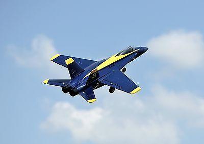 ﹩269 00  TOP F18 V1 Blue Angles RC Plane EDF RemoteControl