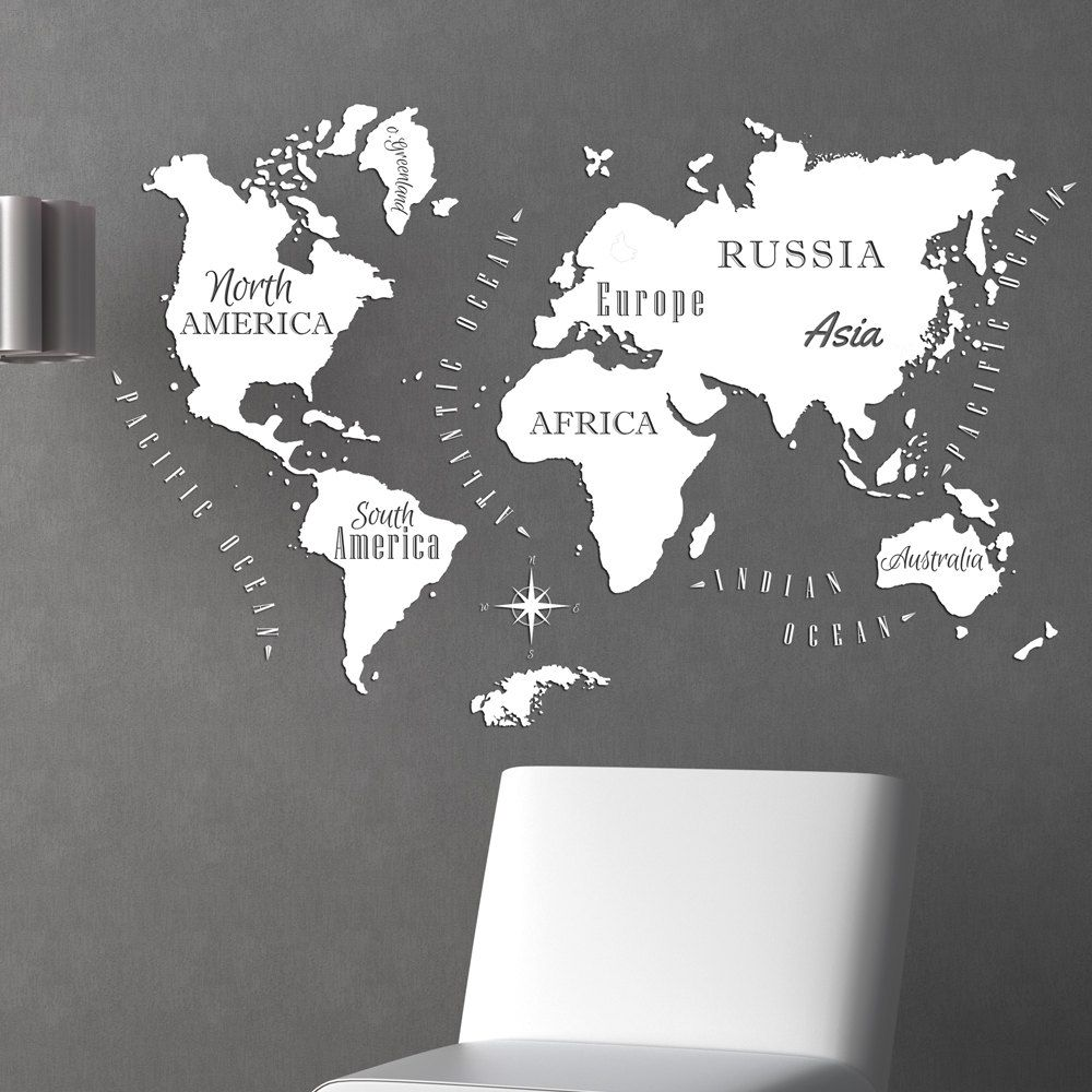 Old world map vinyl graphic decal item 0430 by wallvinylcreations old world map vinyl graphic decal item 0430 by wallvinylcreations on etsy gumiabroncs Images