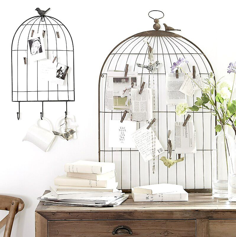 Birdcage Notice Board Create In 40 Pinterest Bird Cage Interesting Birdcage Memo Board