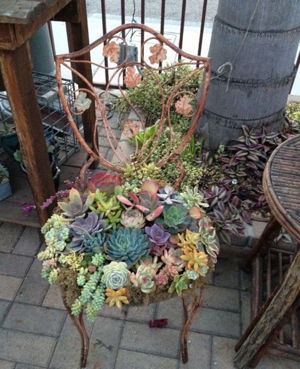 38 Genius Diy Outdoor Succulent Garden Ideas For Spring To Try is part of Whimsical garden - Ahhhh! Spring is just around the corner   the onset of warmth, budding of trees, blossoming of flowers  A time of renewal […]