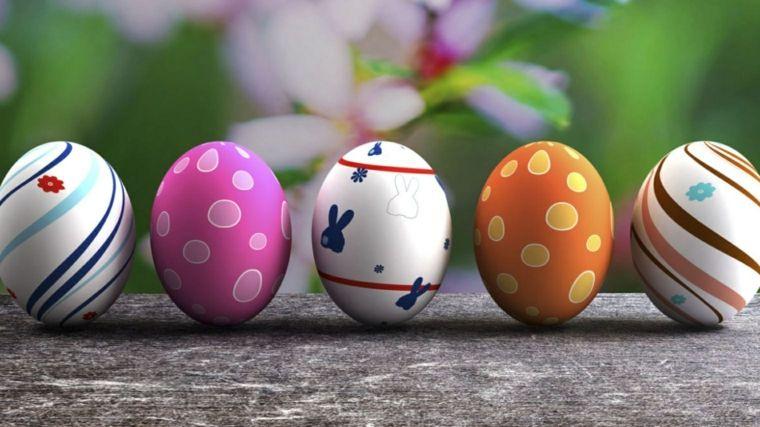 Riciclo creativo dei cartoni delle uova cestini di pasqua